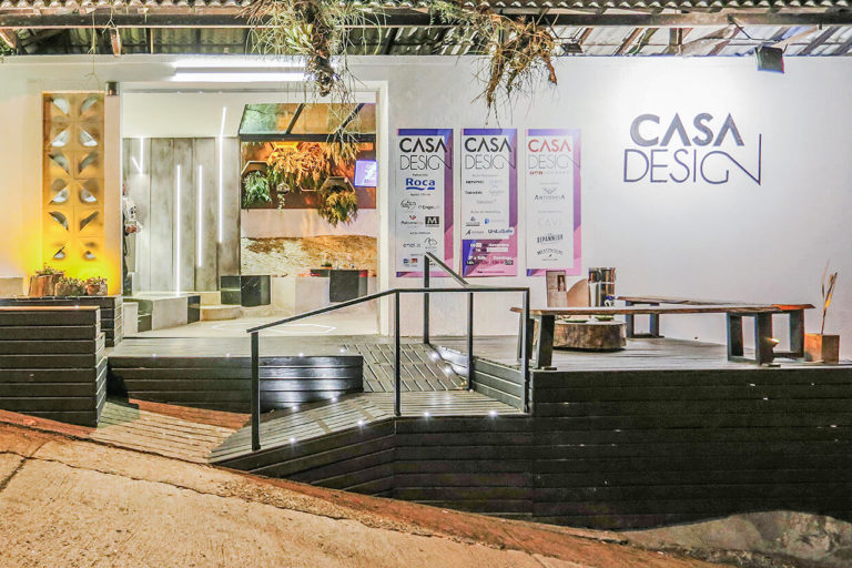 Mostra Casa Design 2018 – Recepção do Evento
